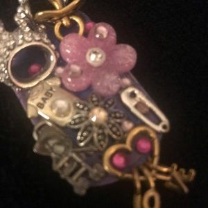 Jodi's JewelryPrecious dogtag necklace.baby gift